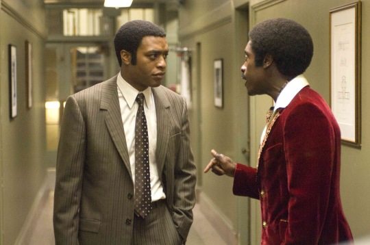 Chewitel Ejiofor (left) and Don Cheadle in TALK TO ME