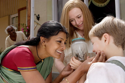 Nandita Das and Jennifer Ehle