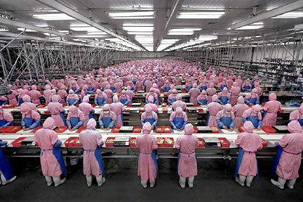 Manufacturing people