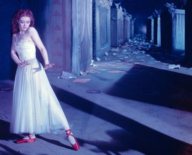 Moira Shearer as the ballerina who must dance.