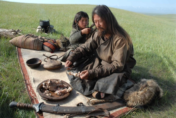 Asano Tadanobu as Temudjin – eventually to become Genghis Khan
