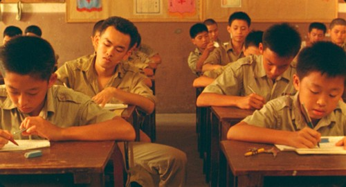 Sly, Si'r and Cat in class
