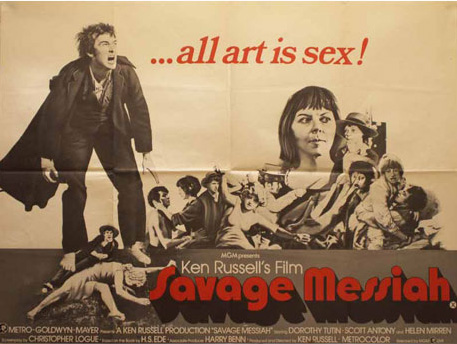 Savage messiah uk 1972 the case for global film producer fandeluxe Images