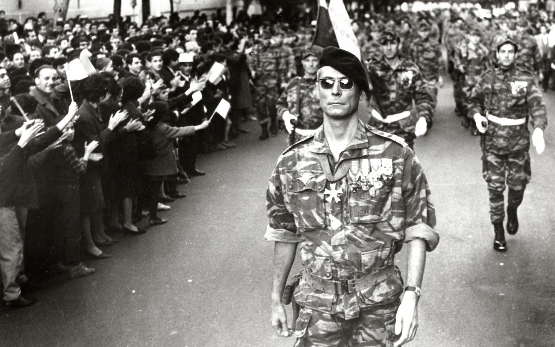 The Battle of Algiers (La battaglia di Algeri, Italy-Algeria, 1966 ...