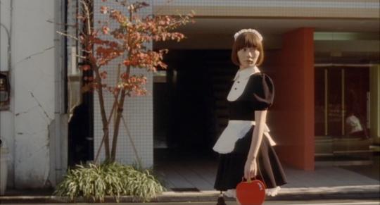 Bae Doo-na as Nozomi on her first trip outside