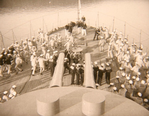. . . this was in mind when I saw Freddie above the deck (from Battleship Potemkin)