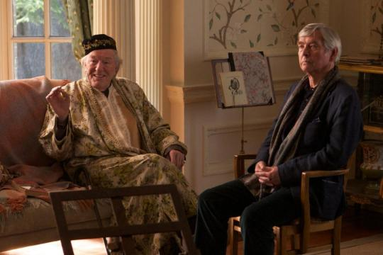 Michael Gambon (left) and Tom Courtenay