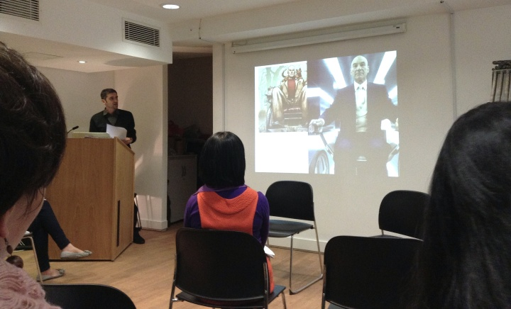 Corrado Neri of Jean Moulin University, Lyon presents a paper on 'Inseparable': The Rise or Fall of a Chinese Superhero