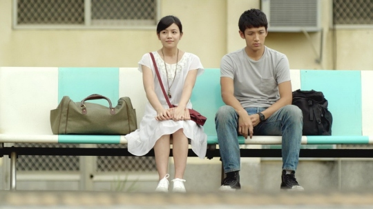 Michelle Chen as Shen Chia-Yi and Ke Zhendong as Ko Ching-Teng, the central two characters.