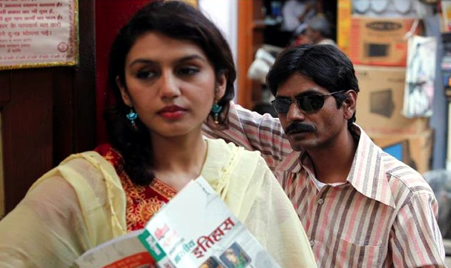 Huma Qureshi as Mohsina and Nawazuddin Siddiqui as Faisal Khan