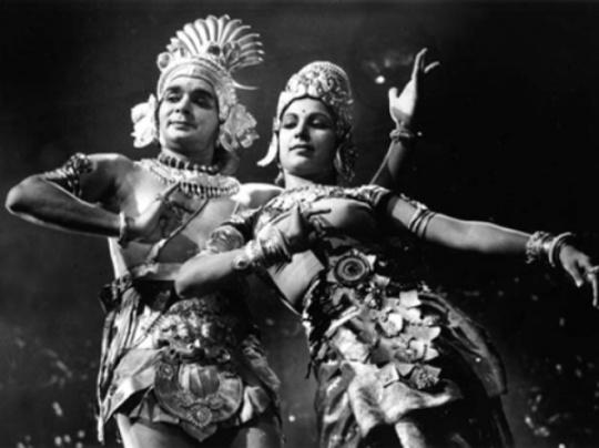 Uday Shankar and (I think!) Alama Shankar