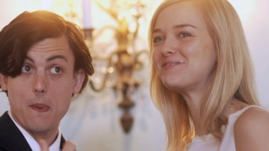 Max (Keith Poulson) and his second wife Lyla (Jess Weixler)