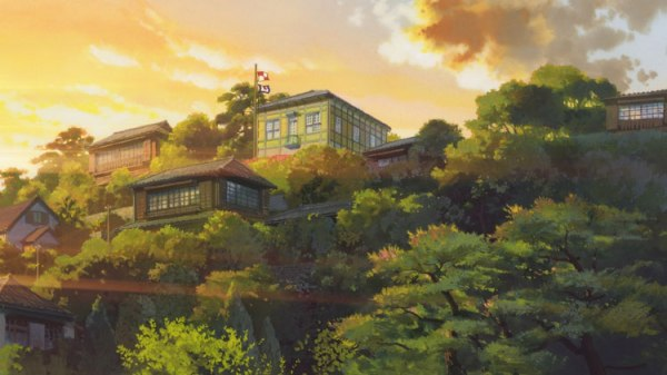 The house on 'Poppy Hill'
