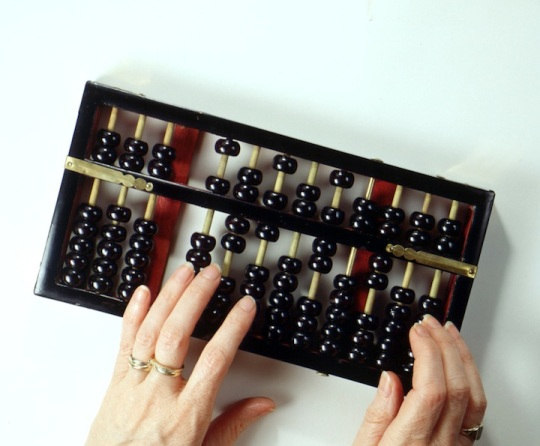 (From http://jigsawabacus.wordpress.com/2010/05/15/mystery-of-abacus/) An abacus is an ancient Chinese form of counting widely used in Asia.