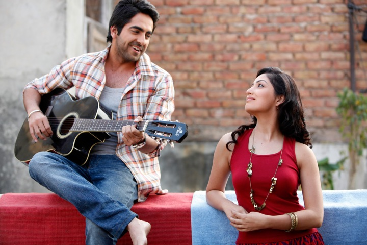 Ayushmann Khurrana and Yami Gautam, the attractive young leads of 'Vicky Donor'