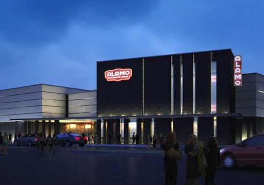 An Alamo Drafthouse Cinema in Texas