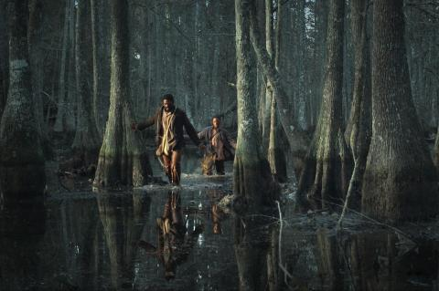 Nate and Will cross the Bayou