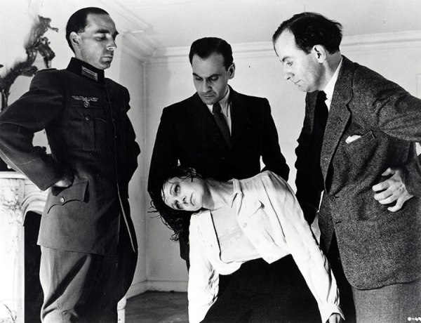 Odette is tortured at the Gestapo headquarters in Paris.