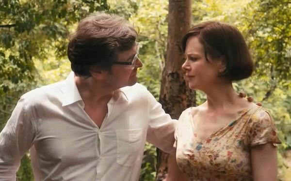Colin Firth with Nicole Kidman (as Patti Lomax)