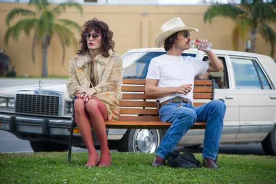 Jared Leto as Rayon and Matthew McConaughey as Ron Woodruff