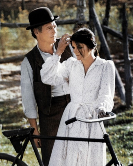 Paul Newman and Katherine Ross in BUTCH CASSIDY & the SUNDANCE KID