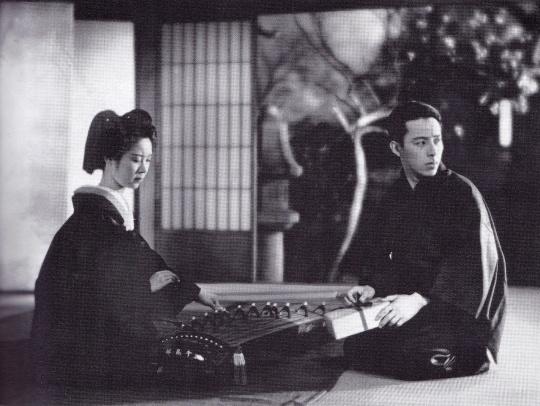 Tanaka Kinuyo and Takada Kokichi in Okoto and Sasuke