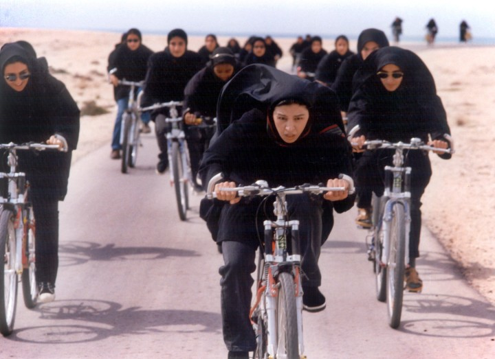 Ahoo takes part in a bicycle race in THE DAY I BECAME a WOMAN