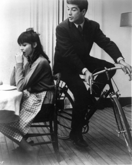 Anna Karina and Jean-Claude Brialy in UNE FEMME EST UNE FEMME