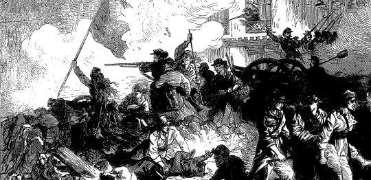 The Paris Commune, 1871.