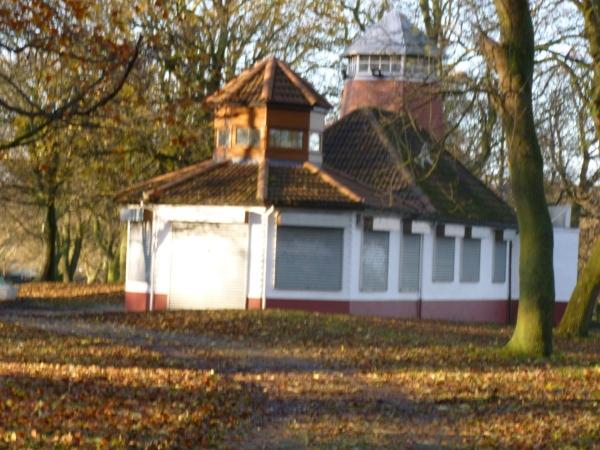 The old Pavilion building - autumn 2014.
