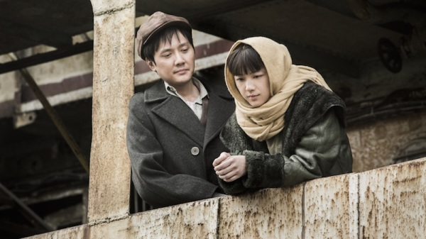 Xiao Jun  (Feng Shaofeng) and Xiao Hong (Tang Wei) the young lovers.
