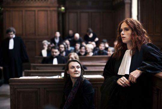 Joséphine Karlsson (Audrey Fleurot) in court