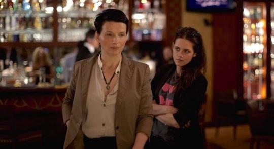 Maria (Juliette Binoche) and Val (Kristen Stewart) in CLOUDS OF SILS MARIA