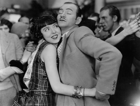 Colleen Moore as the 'hot dancer' . . .