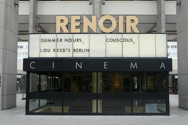The Renoir in its guise as an art cinema in 2008. Two French films playing across two screens with a music documentary also in the programme.
