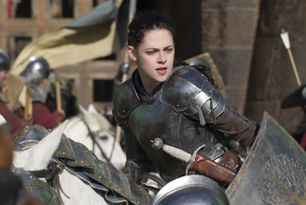 Kristen Stewart as Snow White – in 'Joan of Arc' mode?