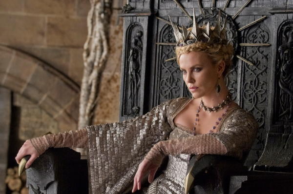 Charlize Theron as Ravenna, the 'Evil Queen'