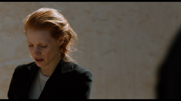 Screen acting and 'less is more' control:  Chastain in 'Zero Dark Thirty' (2012)