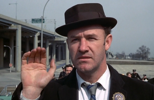 Gene Hackman as 'Popeye' Doyle in The French Connection