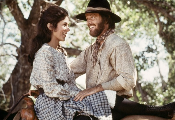 Kathleen Lloyd and Jack Nicholson in THE MISSOURI BREAKS