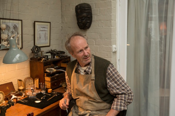 William Hurt as the retired cybernetics engineer, George. Photo Credit: Colin Hutton/Kudos/AMC/C4