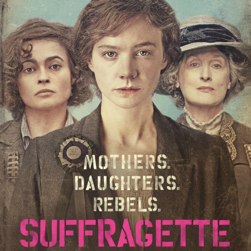 This trio appeared on many posters. It doesn't represent the importance of the characters in the narrative – Anne-Marie Duff should replace Meryl Streep