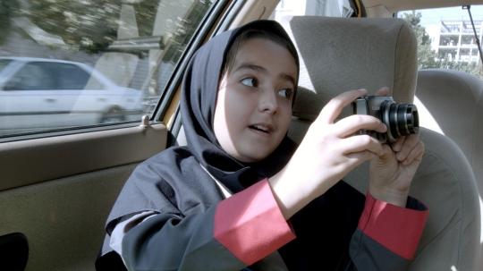 Jafar Panahi's niece Hana frames her uncle