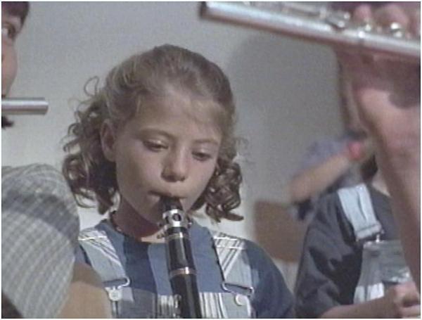 Tatjana as the young Lara.
