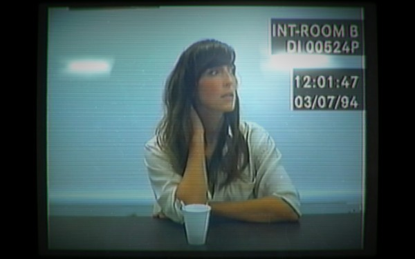 A screenshot from the videogame 'Her Story'.
