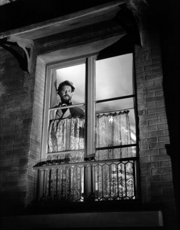 M. Hire (Michel Simon) in a noir composition