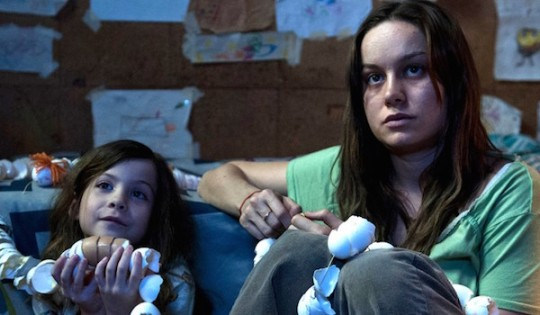Jack (Jack Tremblay) and Joy (Brie Larson) in ROOM