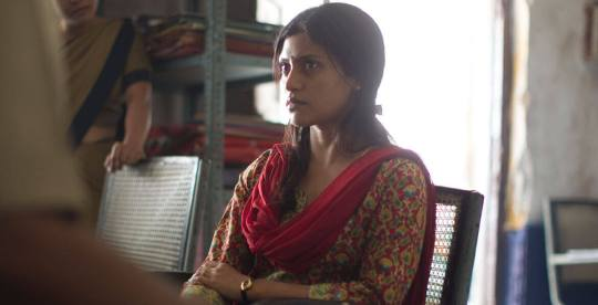 Nutan Tandon – the mother of the murdered girl – played by Konkona Sen Sharma