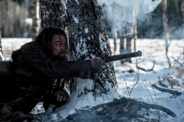 Glass with his amazing flintlock pistol Copyright © 2015 Twentieth Century Fox Film Corporation. All rights reserved. THE REVENANT Motion Picture Copyright © 2015 Regency Entertainment (USA), Inc. and Monarchy Enterprises S.a.r.l. All rights reserved.Not for sale or duplication.
