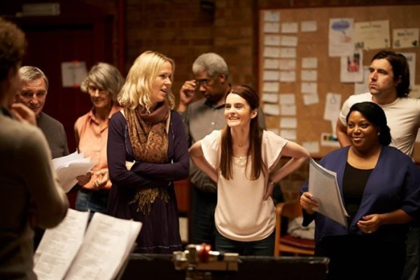 Kate (Shirley Henderson, centre) in the community choir